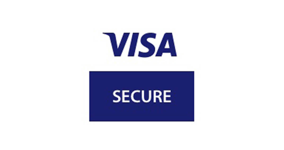 Visa Secure checkout logo